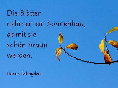 Herbst kurz gedicht Gedichte Kurz