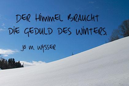 Wintersprüche Kurze Winterzitate