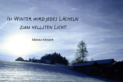 Gedicht winter hoffnung