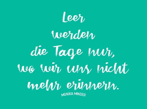 Spruch des tages heute